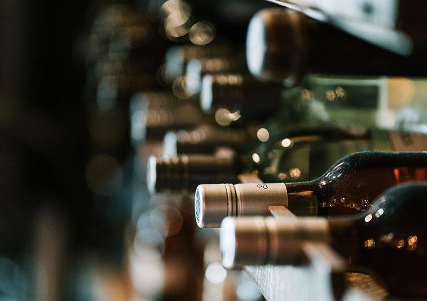 Grandes espacios con vinoteca
