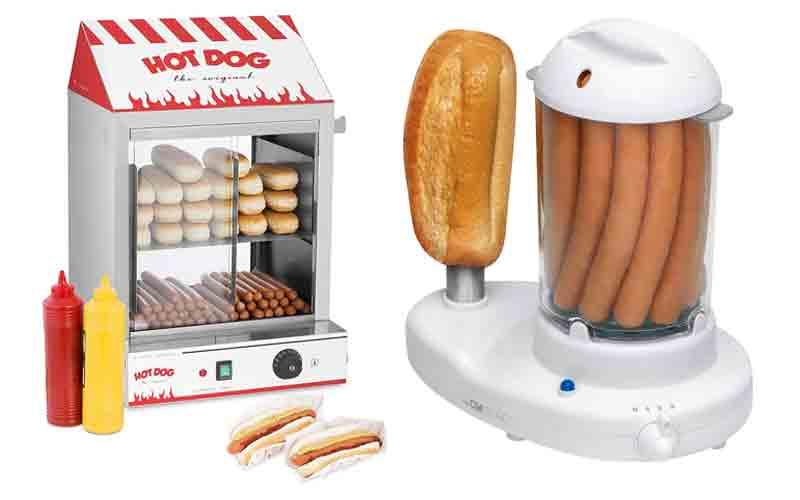 Capacidad de máquinas para hot dogs
