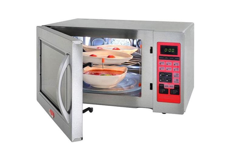 Características de los hornos microoondas industriales