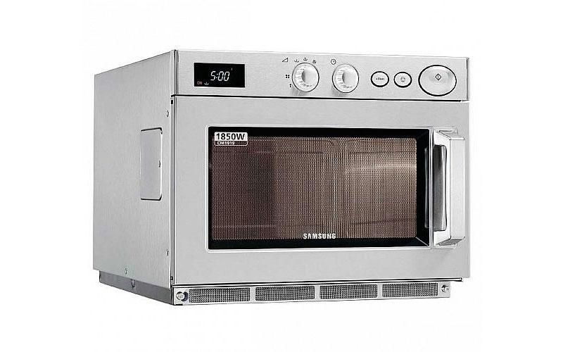 Cómo trabaja un horno de microondas