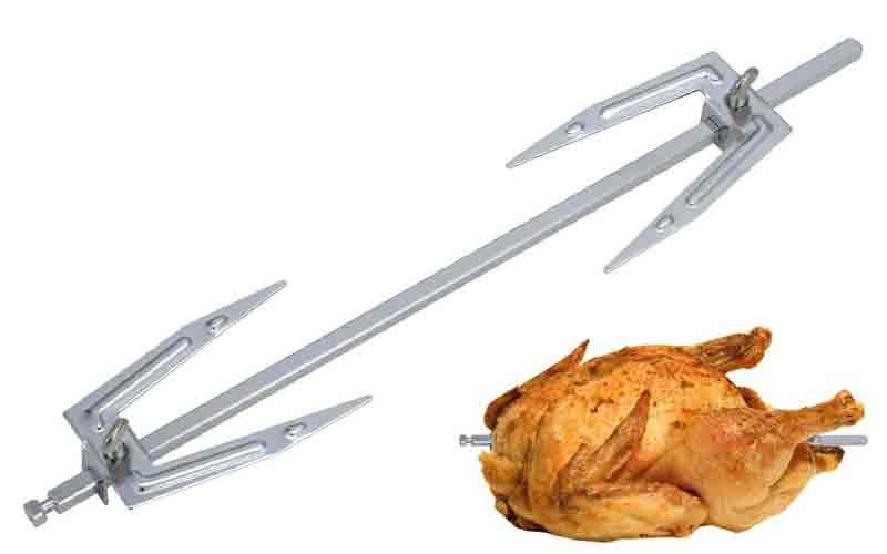 Espadas para asar pollo