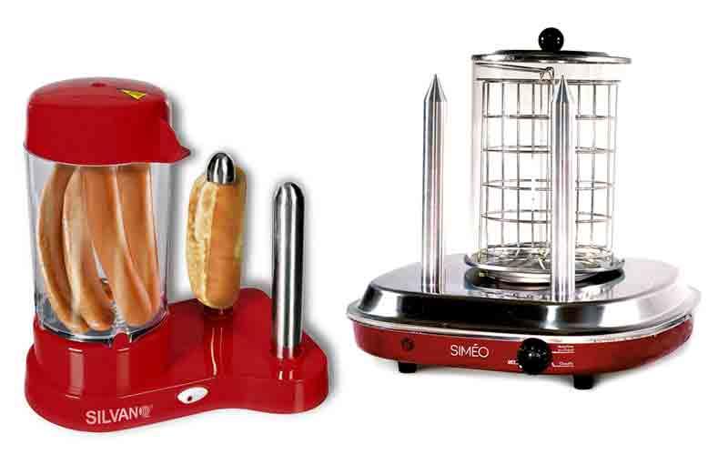 características de máquinas de hot dogs