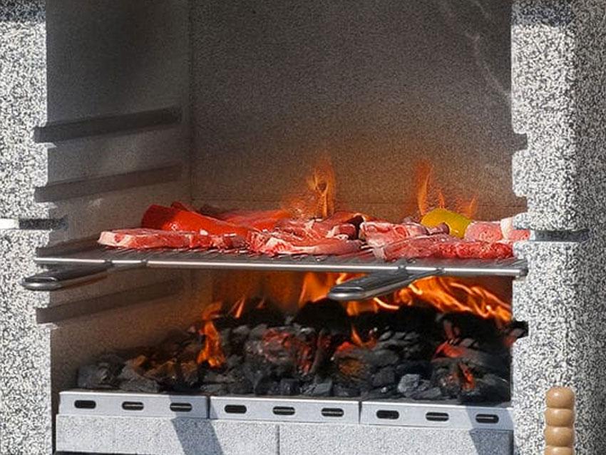 carne asada al carbón