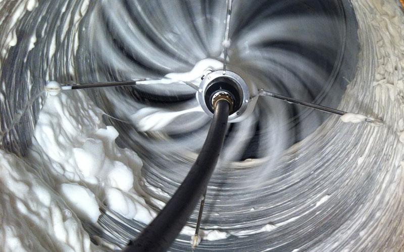 limpieza de campana industrial