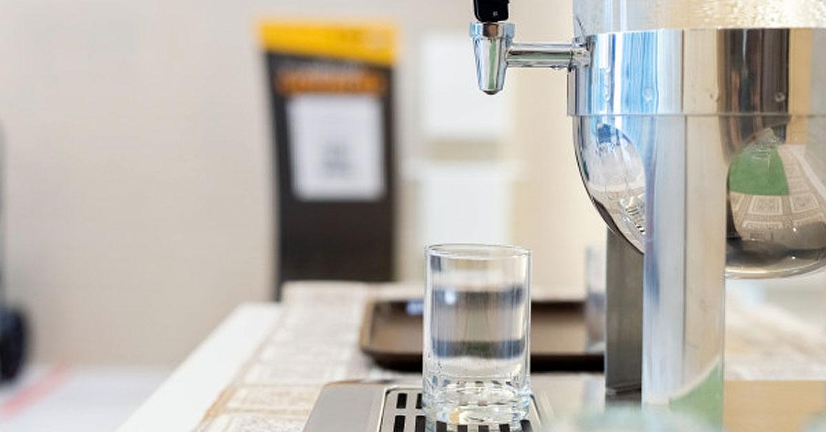 Métodos para limpiar un dispensador de agua