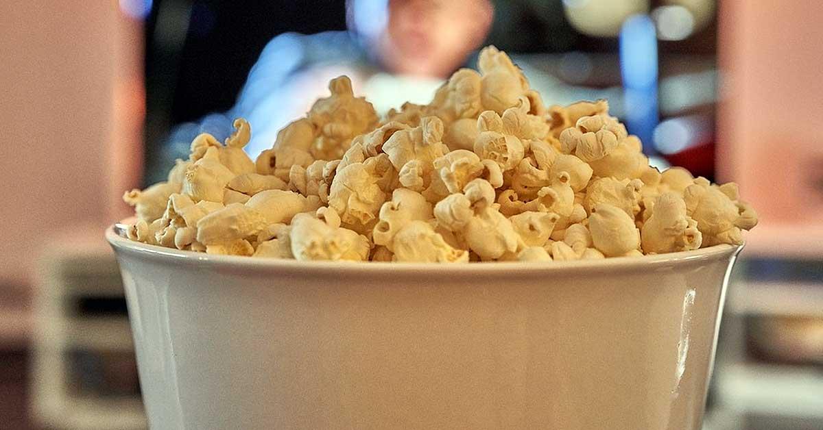 Máquina de hacer palomitas de maíz: El cine en casa
