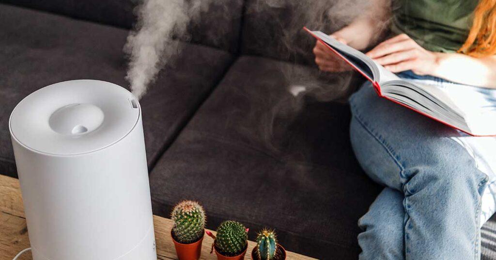Beneficios de humidificador casero