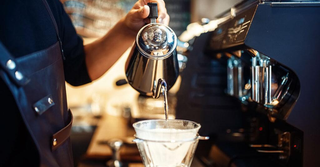 Cantidad de cafeína de un café