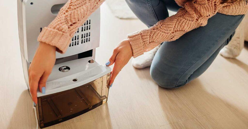 Consejos para limpiar un humidificador casero luego de usarlo