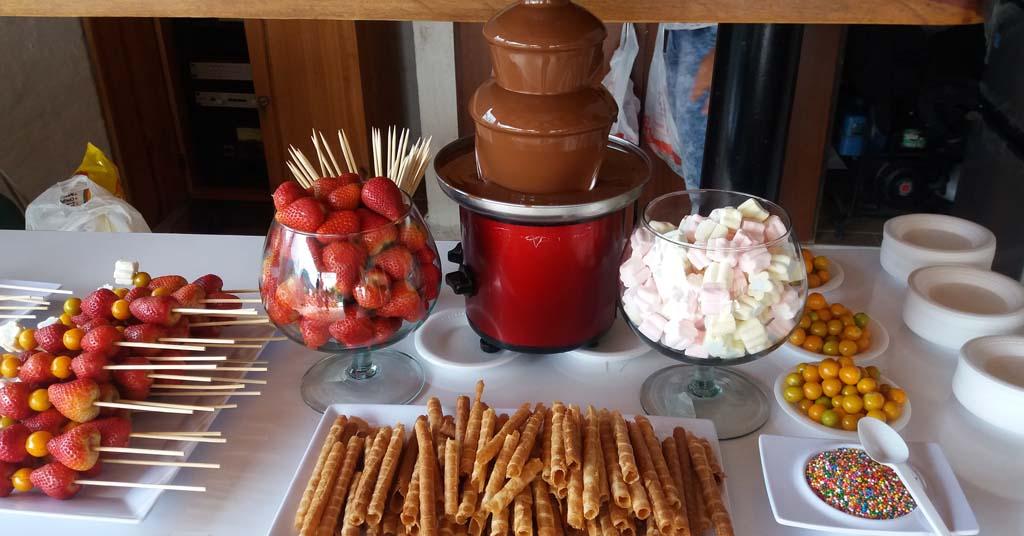 fuentes de chocolate para hosteleria