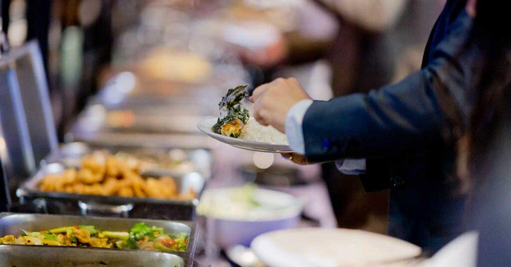 Beneficios de contar del desayuno buffet libre