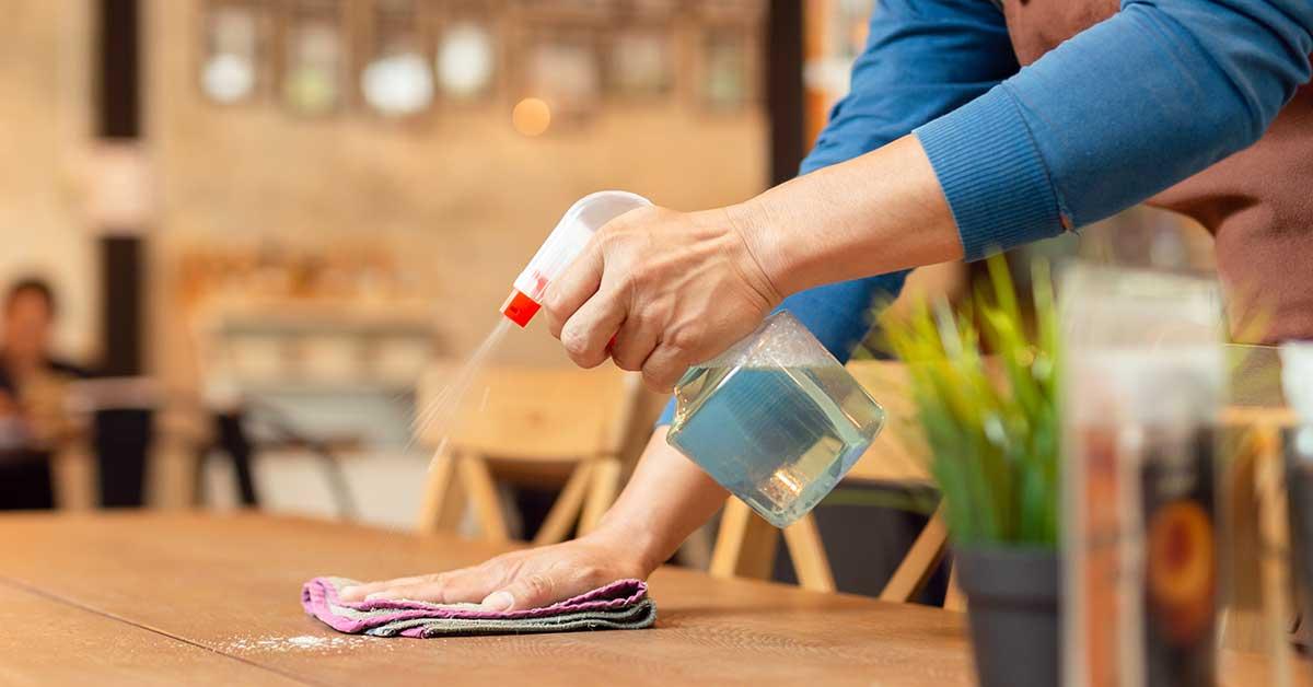 Claves para redactar un plan de limpieza y desinfección