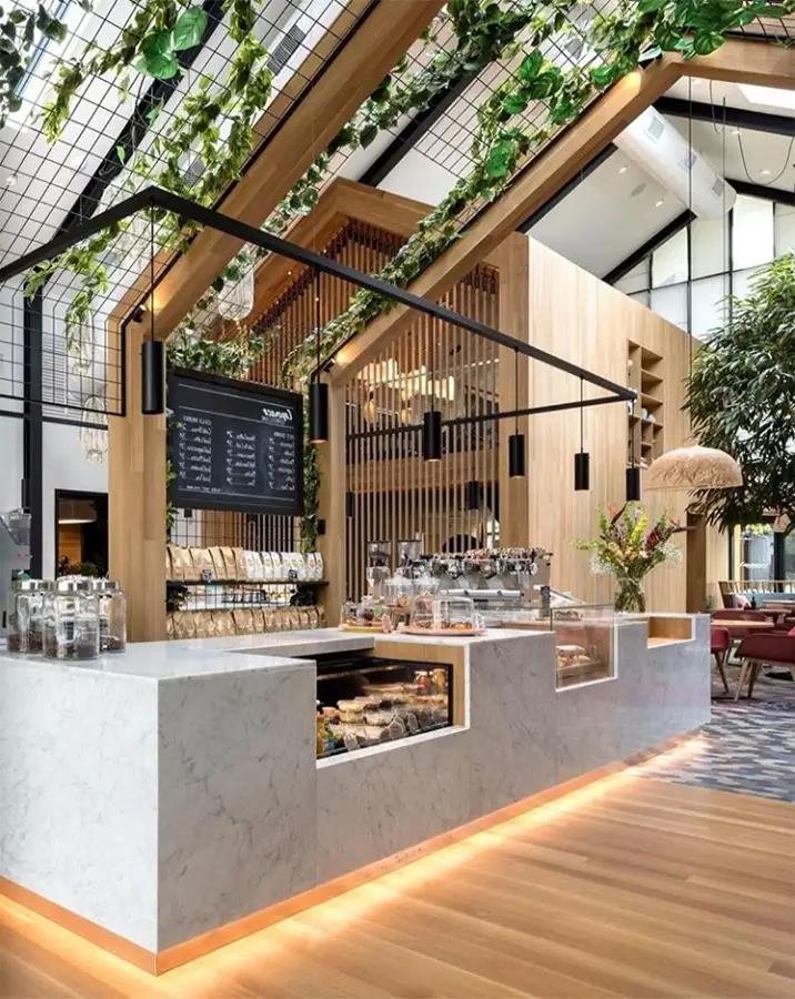 cafetería moderna