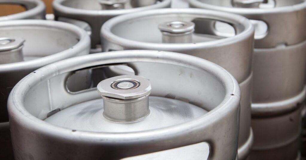 Tamaños barril para dispensador de cerveza
