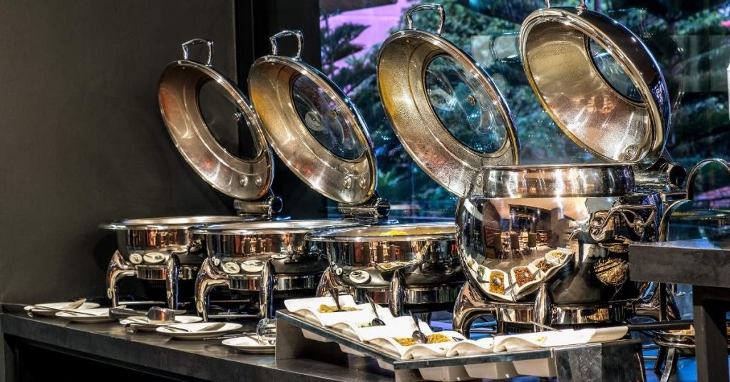 Equipamiento para catering: Chafing dish